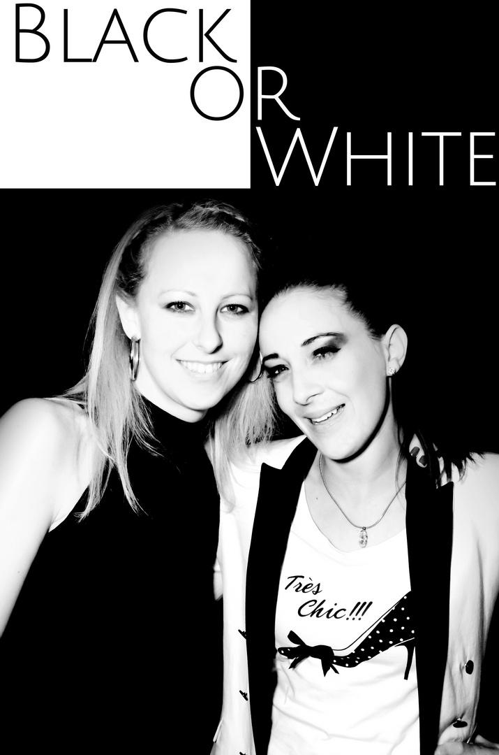 Black or white
