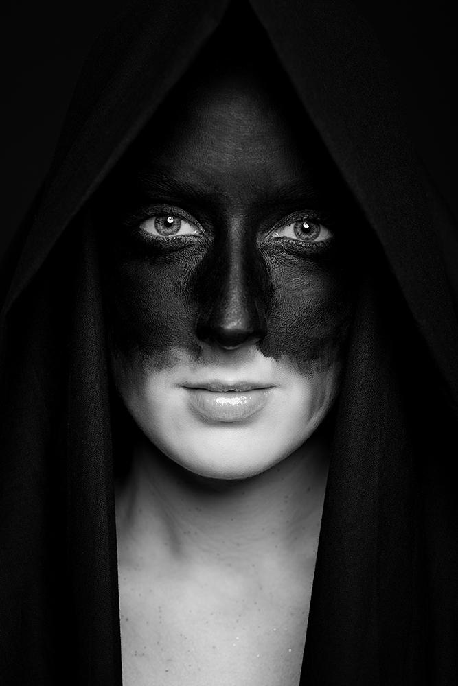 Black - Portrait