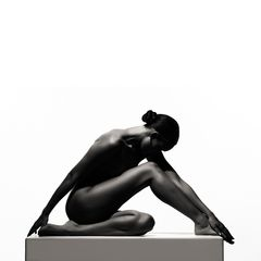 black sculpture