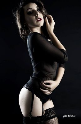 Black sensuality.