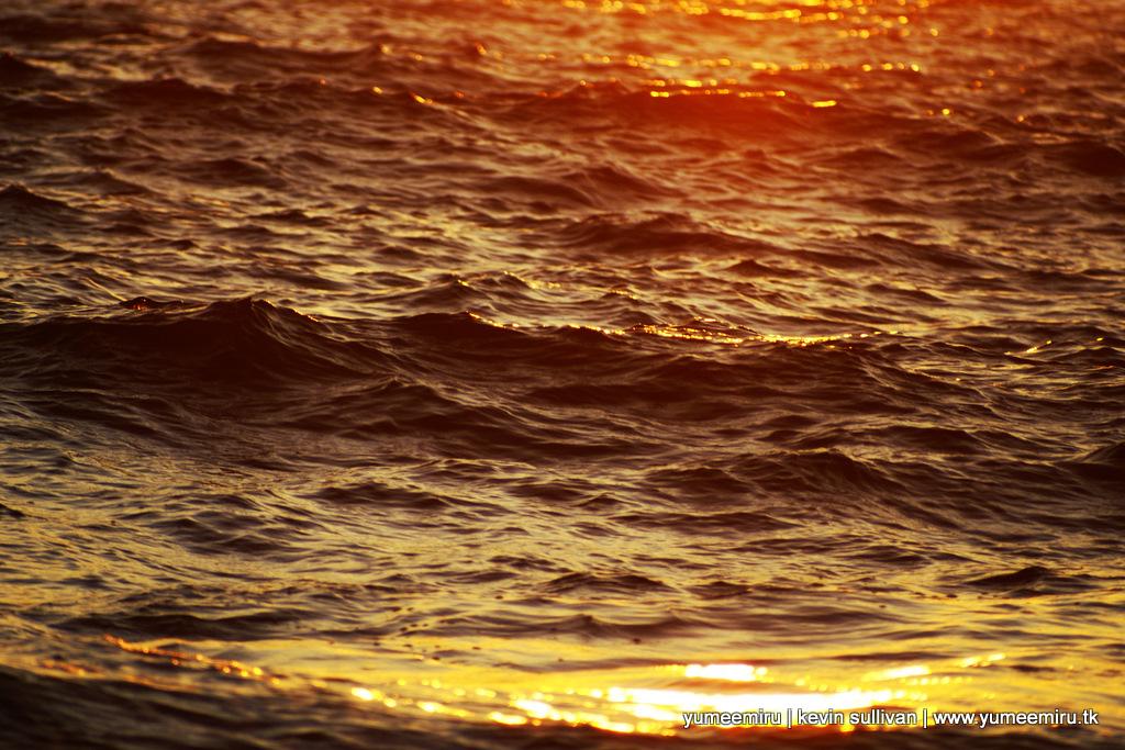 Black Waves in the Sunrise