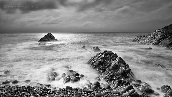 Black & White Landscape Cornwall 2015