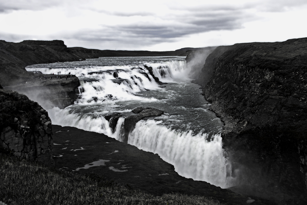 black-white of iceland IV