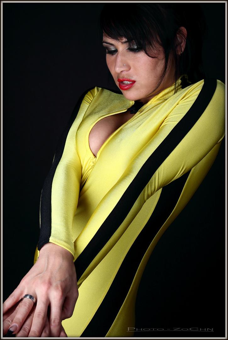 black / yellow II