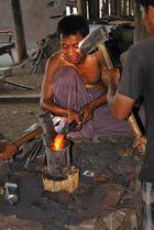 Blacksmith at the Inle lake