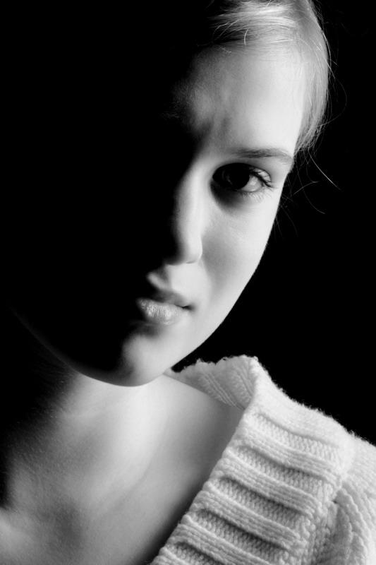 black&white&girl