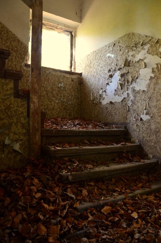 Blättertreppe