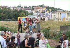 Blaskapelle spielt K21 Stuttgart Park 13.Aug12