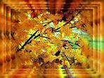 Blattwerk Herbst......