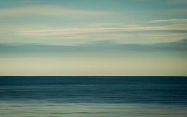 Blau am Morgen.............