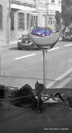 Blau - auch ohne Wein