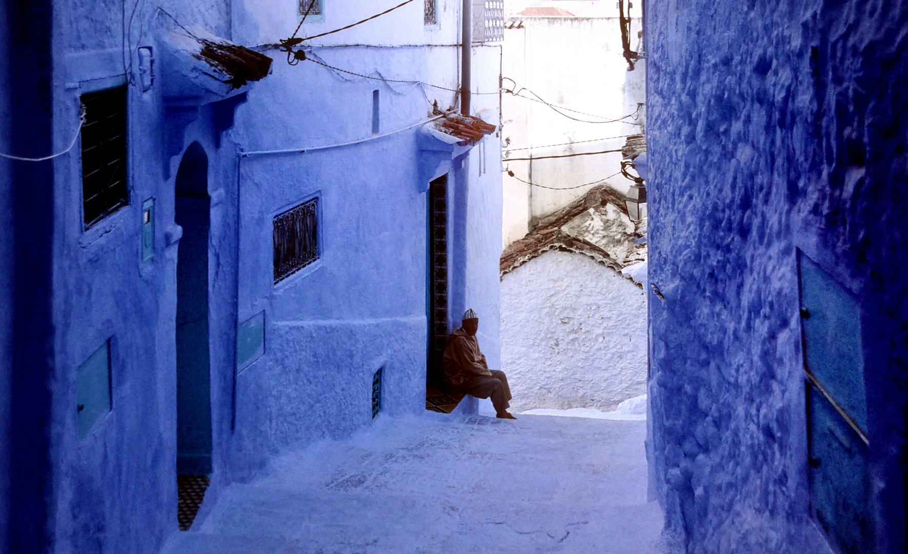 Blau, blau und noch mals blau