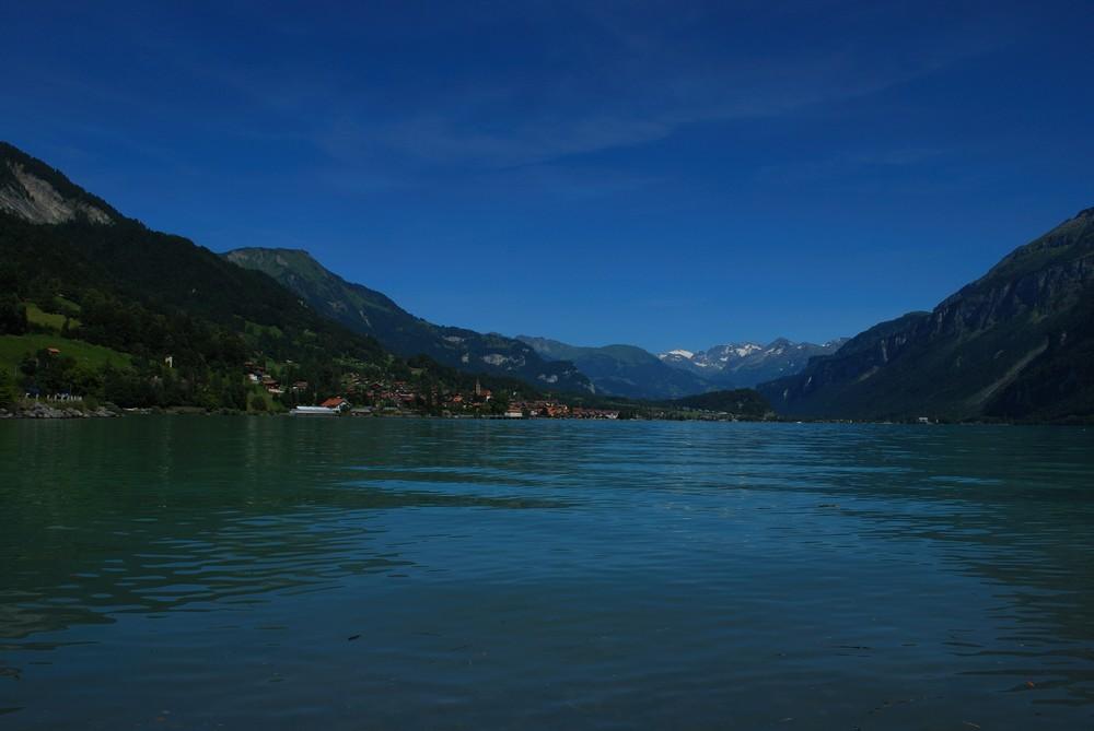 Blau blüht der See