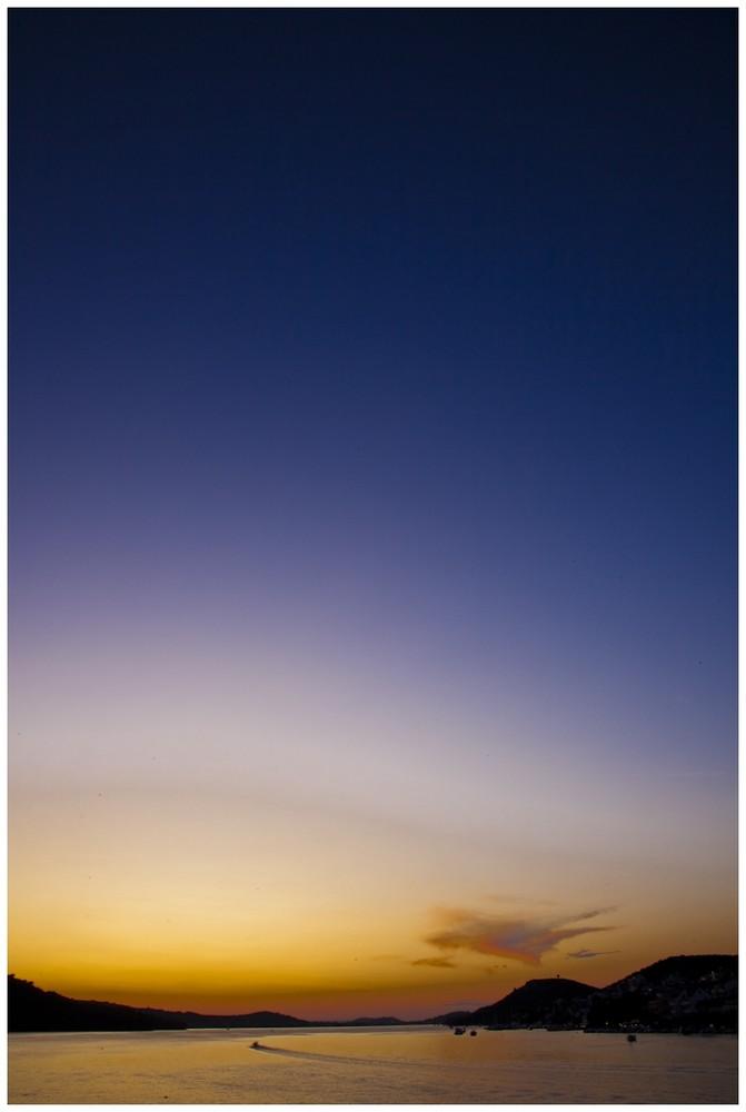 Blau / Gelb