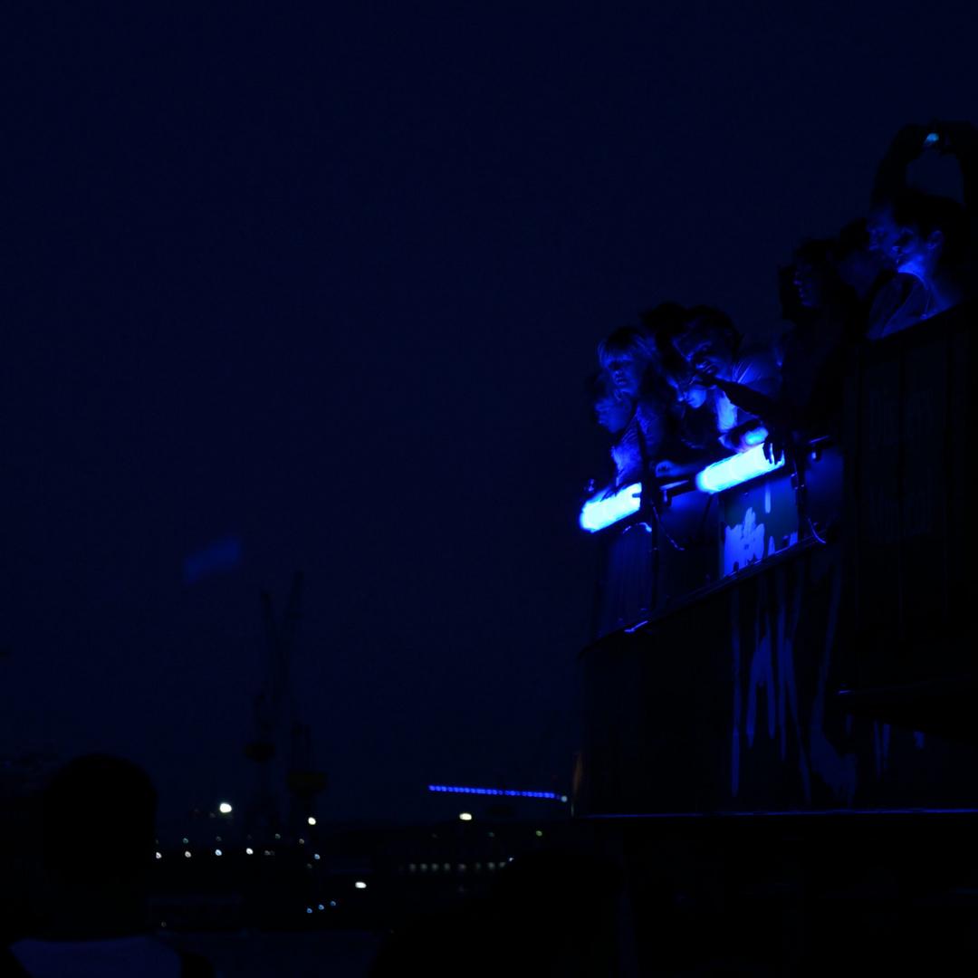 Blau machen in Hamburg