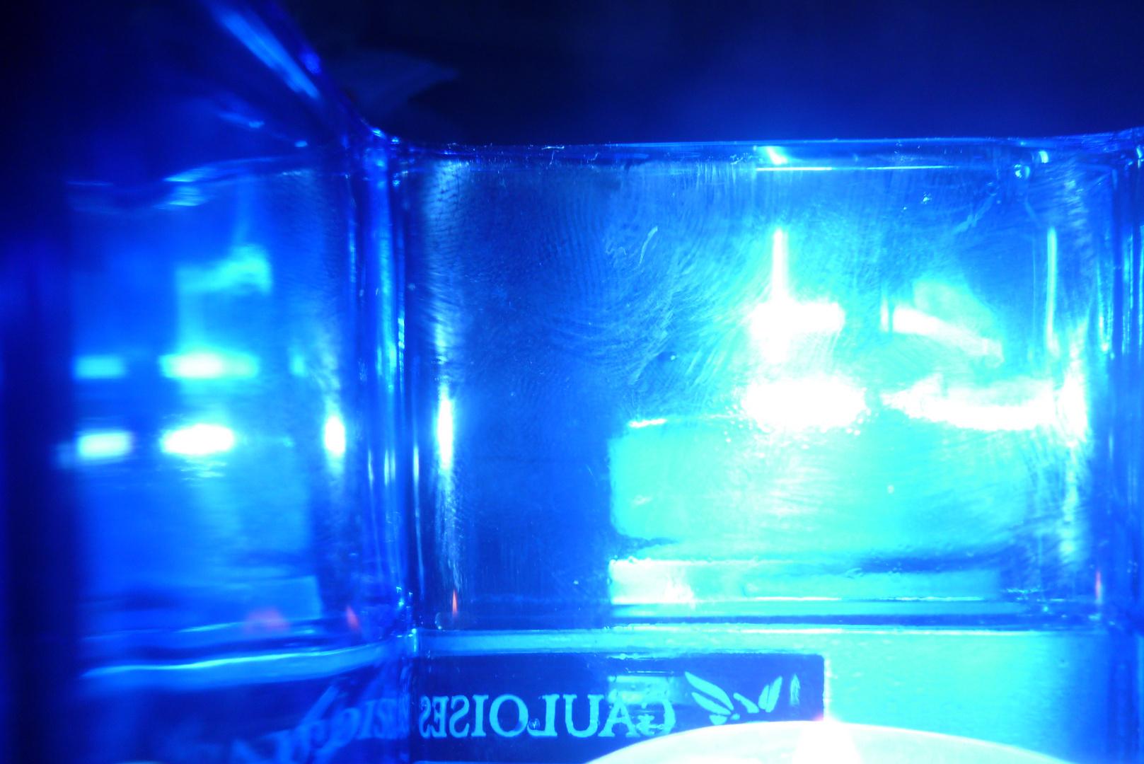 Blau - nichts als blau