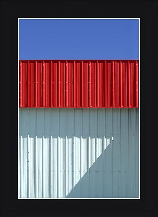 Blau-rot-weiß minus grau = 7