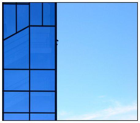 Blau und blau