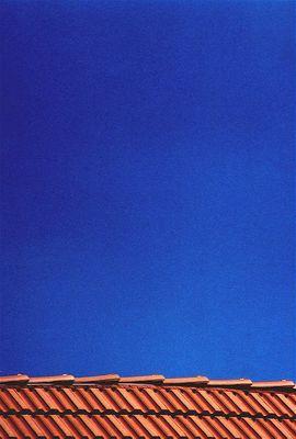 blau und orange