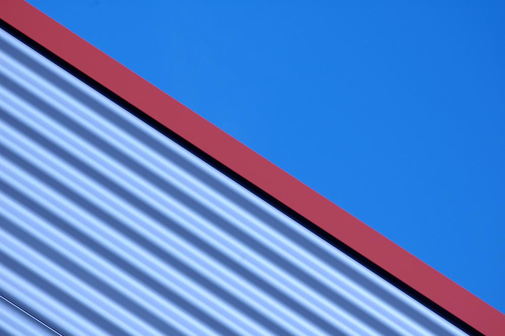 blau und rot (II)