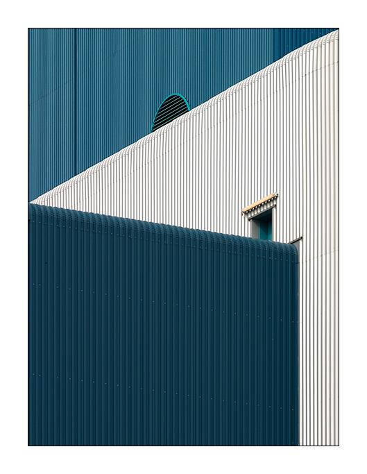 Blau Weiß Türkis