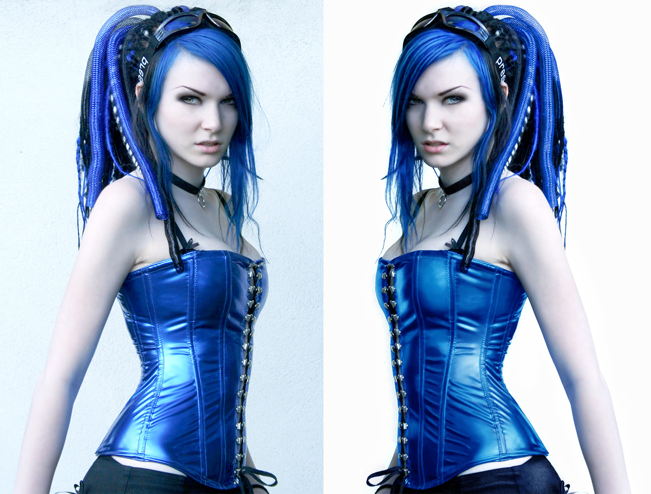 Blau zu Blau
