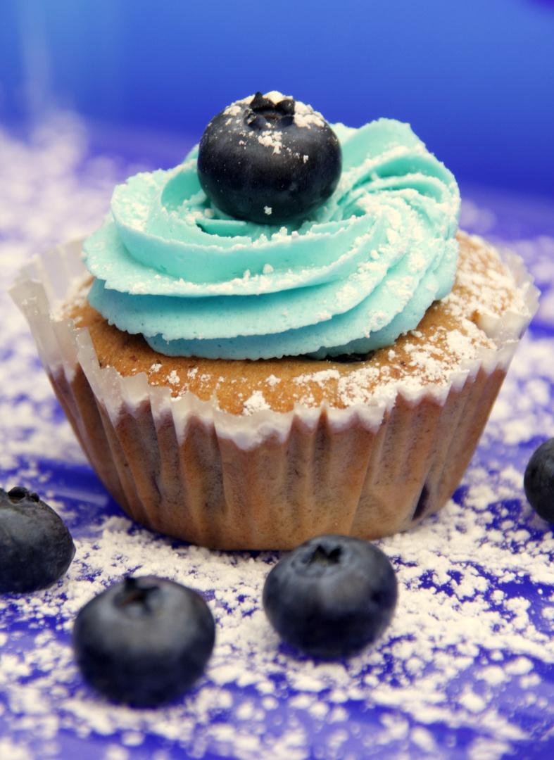 Blaubeercupcake