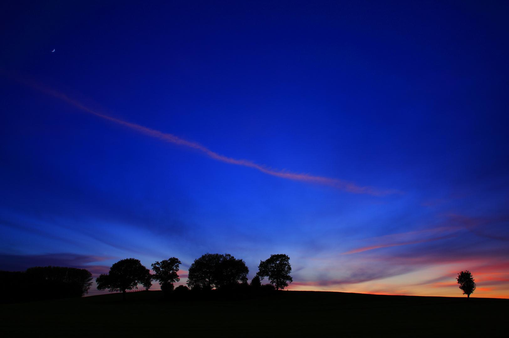 Blaue Abendstunde