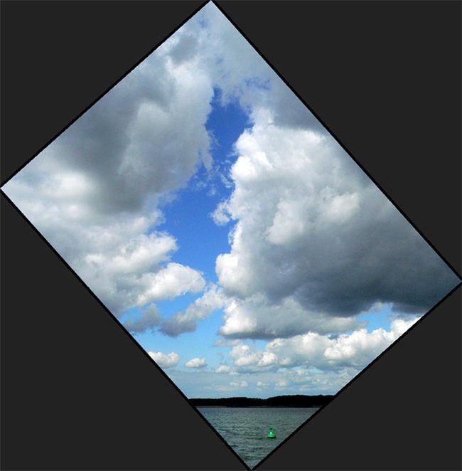 Blaue Aussicht 2