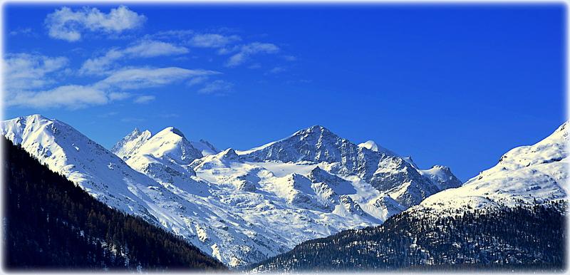"""Blaue Berge"";Nähe St.Moritz;GR;CH"