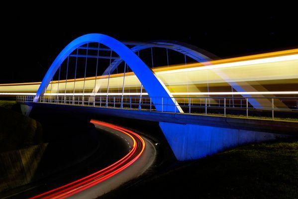 Blaue Brücke 1