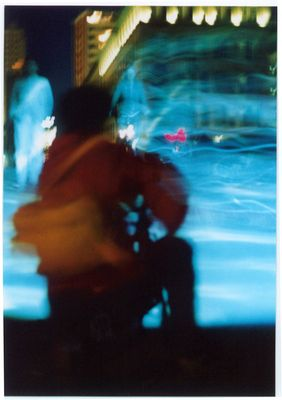 blaue brücke fotograf
