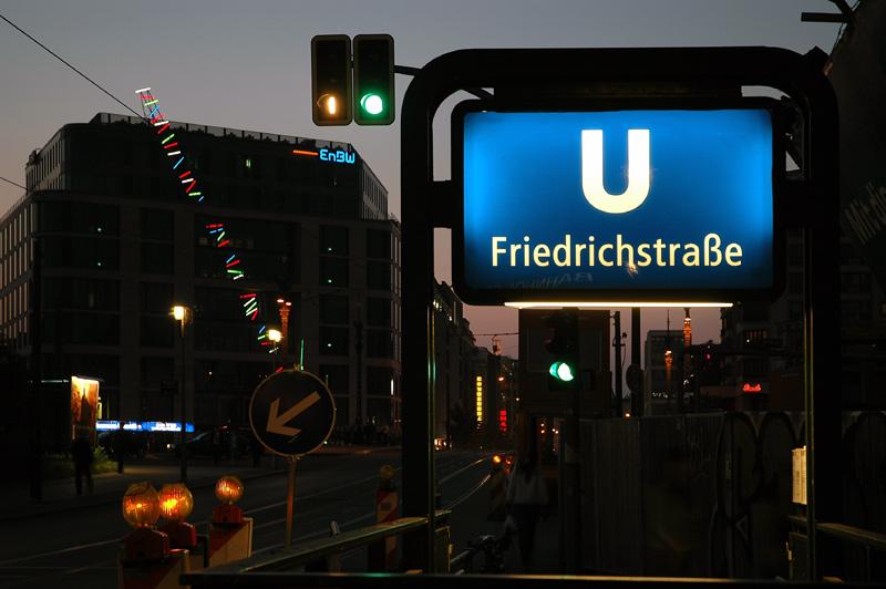 Blaue Friedrichstrasse