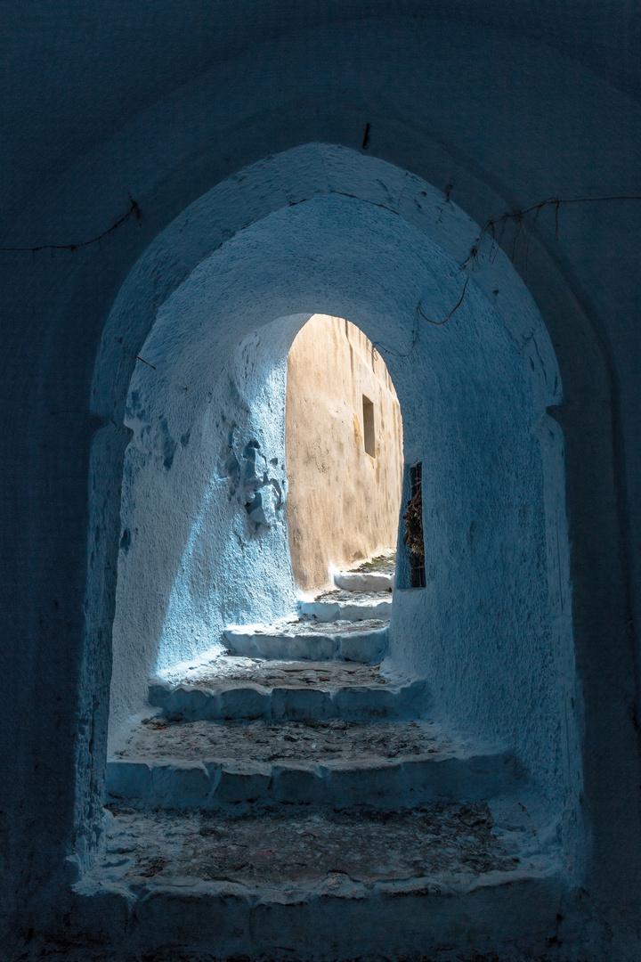 Blaue Grotte in Pyrgos