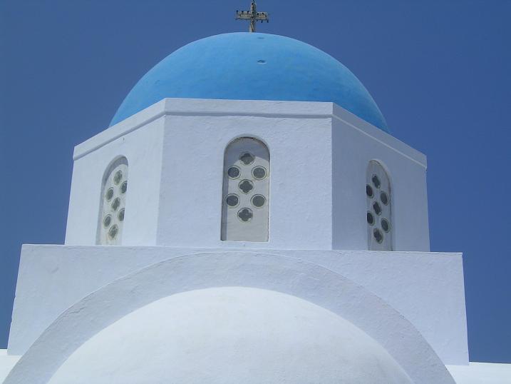 Blaue Kuppel