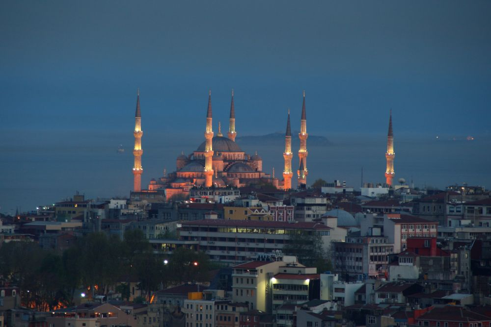 Blaue Moschee in Isanbul