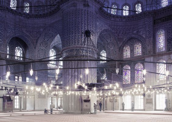Blaue Moschee / Istanbul