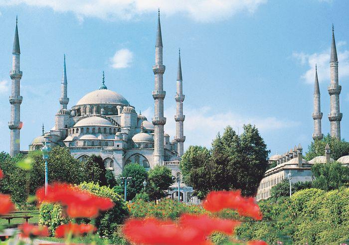 Blaue Moschee (Sultan Ahmet)