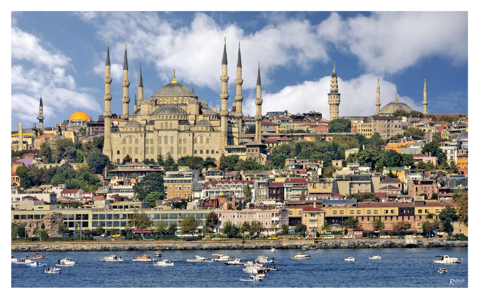 Blaue Moschee (Sultan-Ahmet-Moschee)