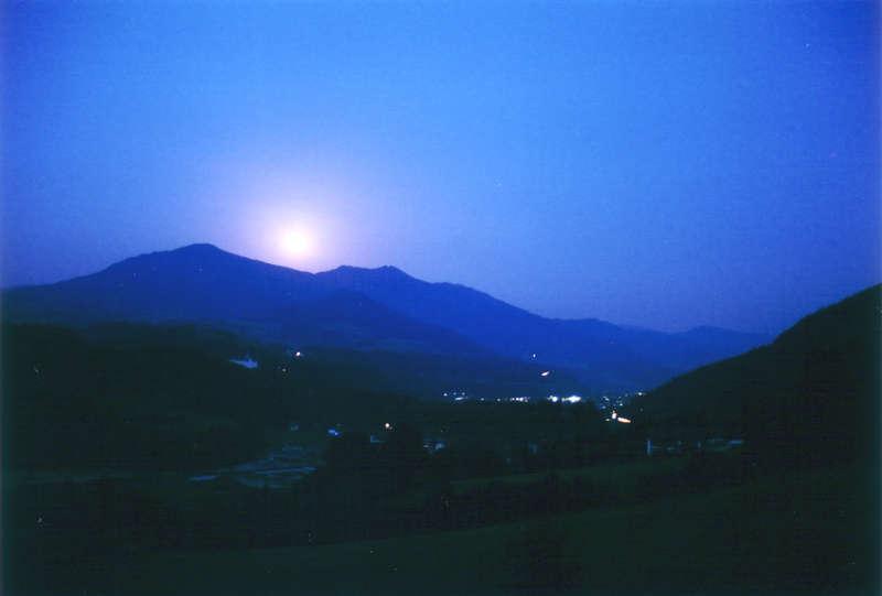 Blaue Nacht