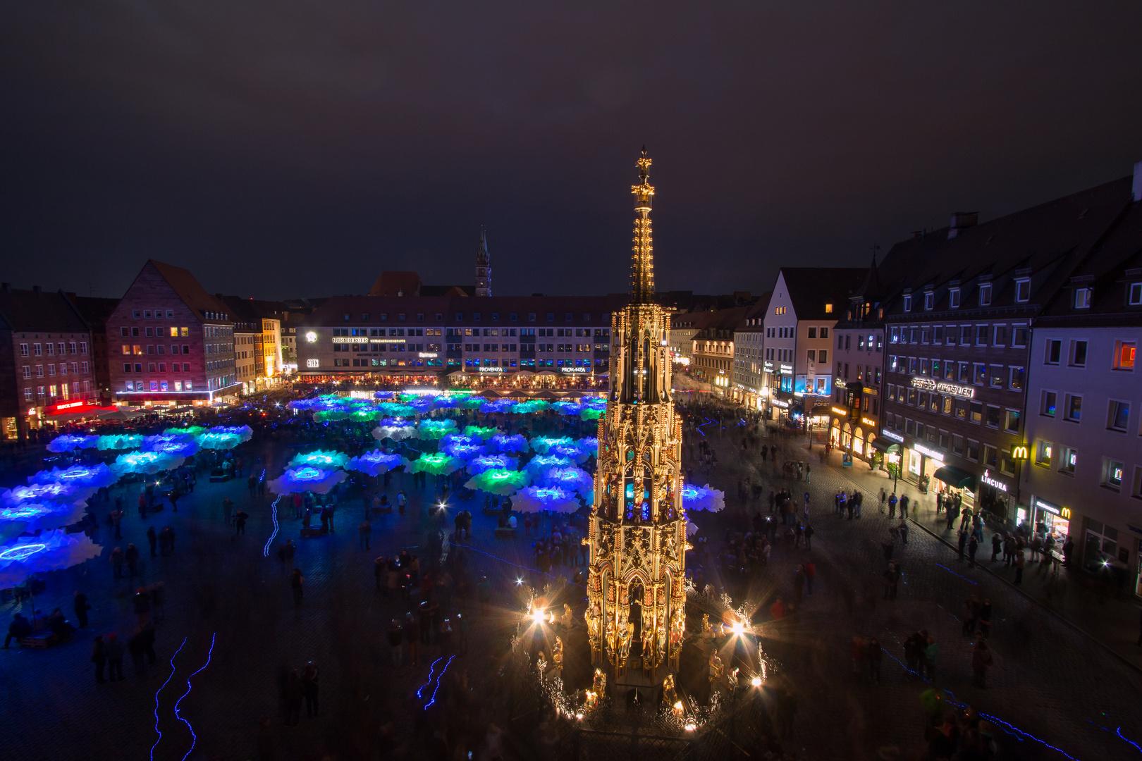 Blaue Nacht in Nürnberg 2014