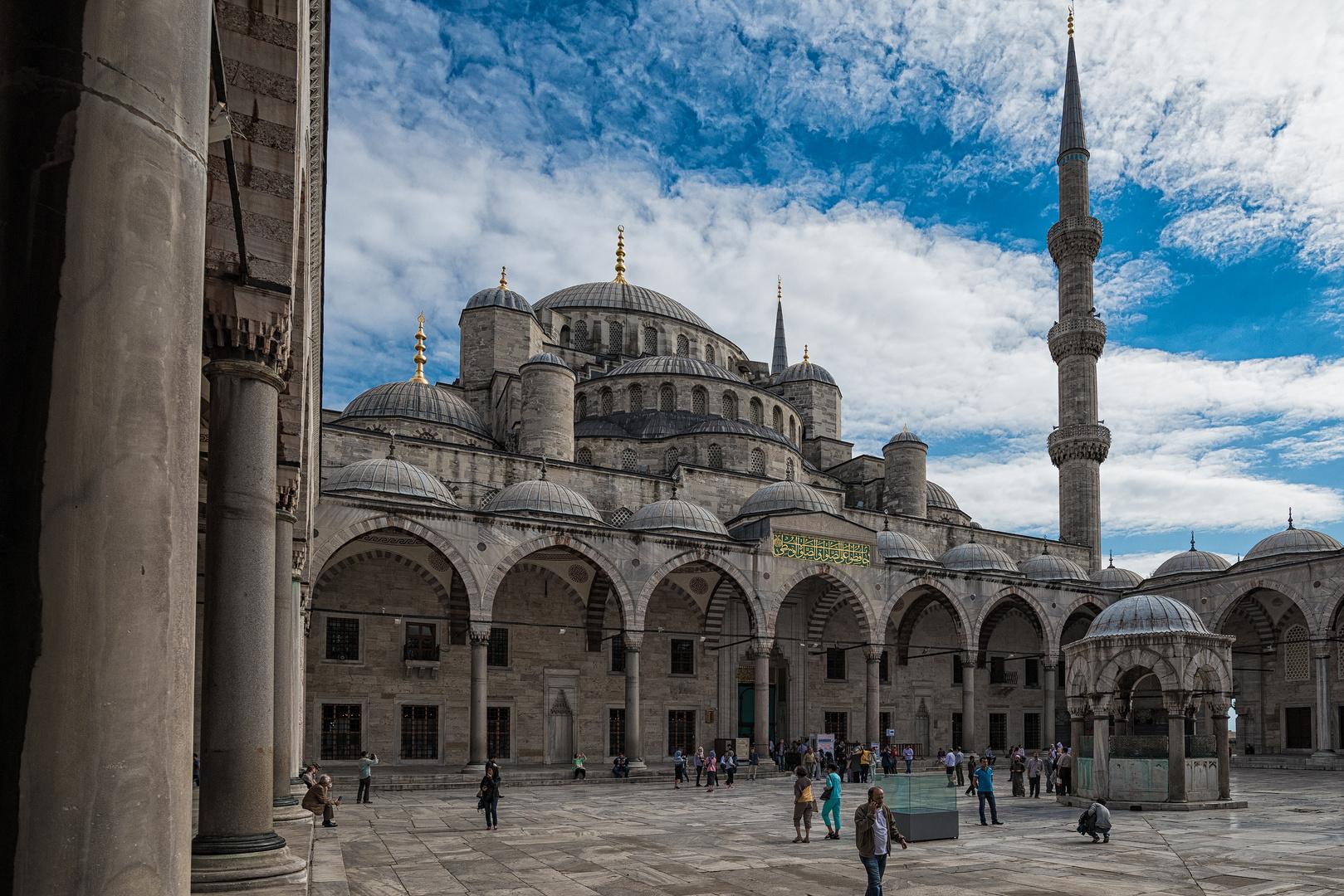Blaue- oder Sultan Ahmed Moschee