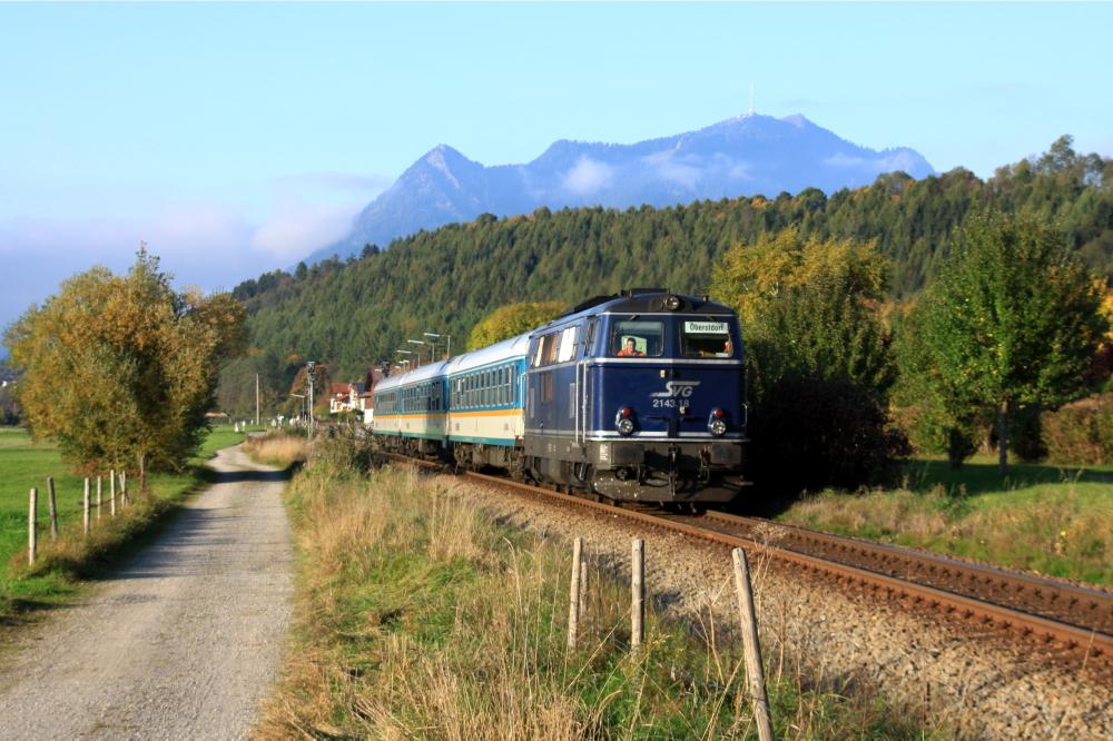Blaue Österreicherin in Bayern