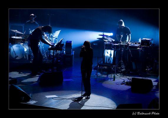 Blaue Schatten