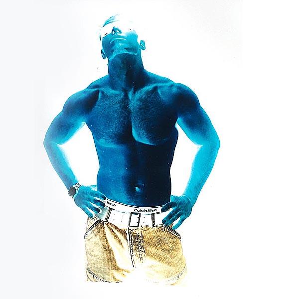 Blaue Serie Nr. 2