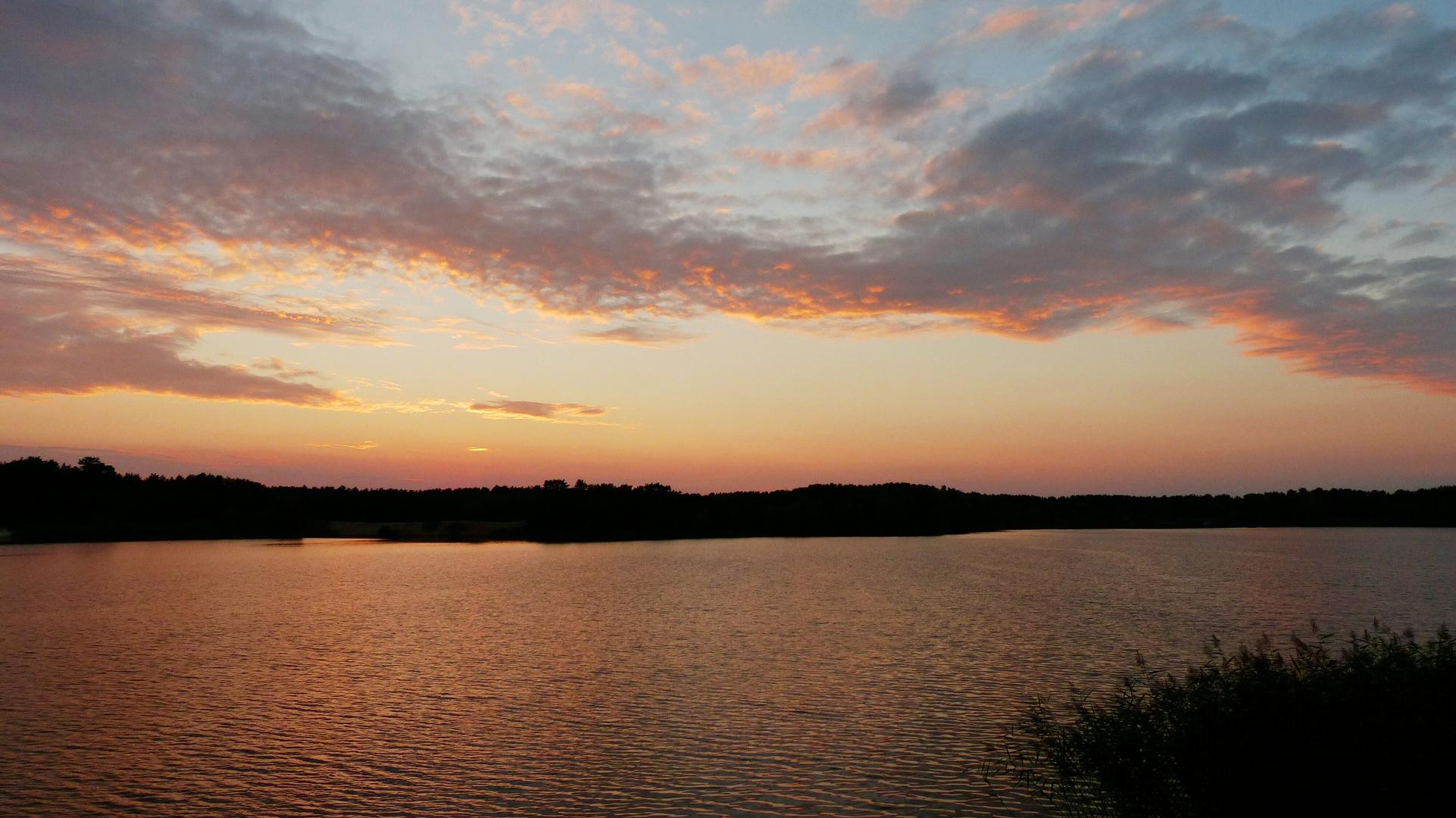 Blaue Stunde am Bernsteinsee