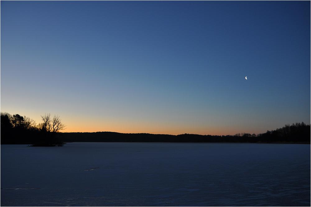 Blaue Stunde am Kölpinsee