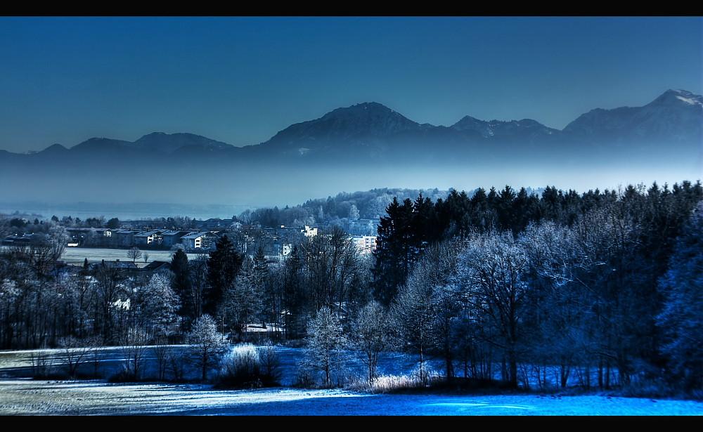 Blaue Stunde am Mittag ;-)