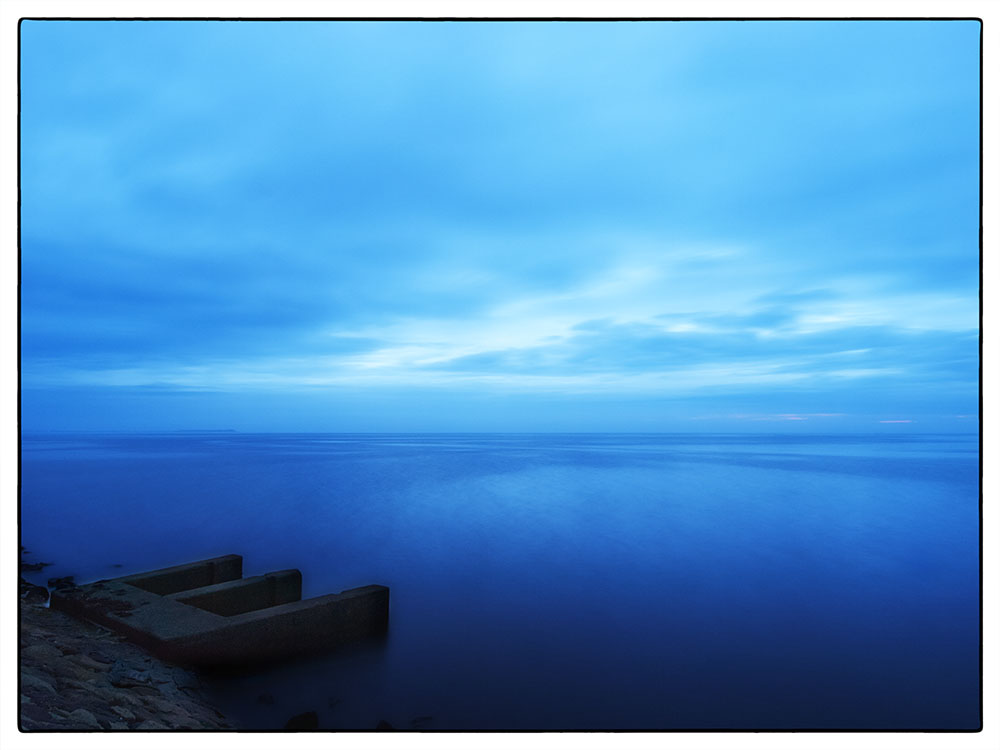 Blaue Stunde am Watt