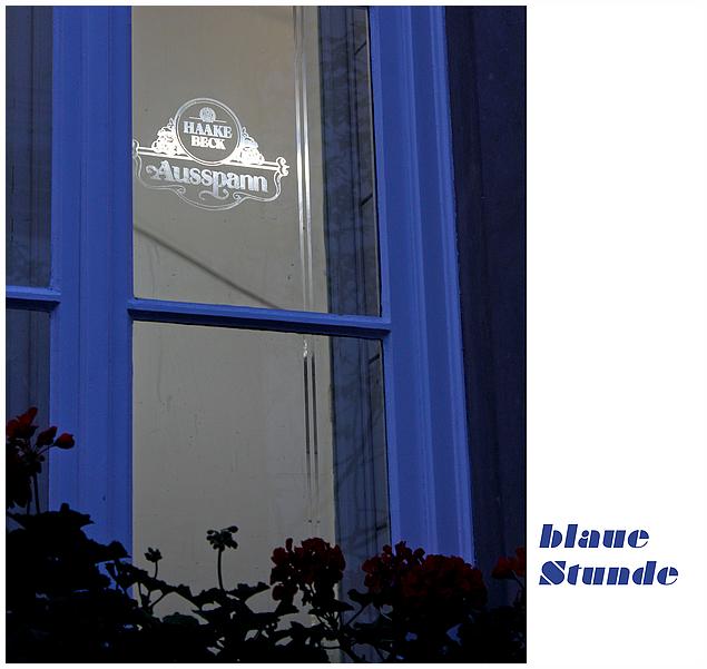 blaue Stunde...